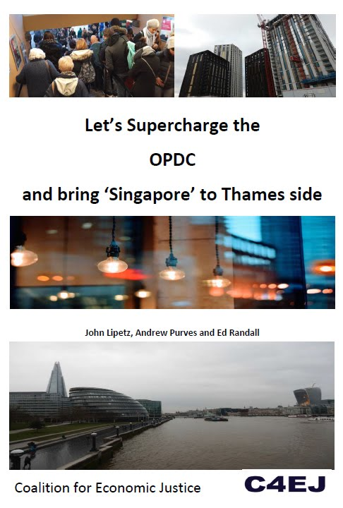 Cover of CEJWG report on OPDC